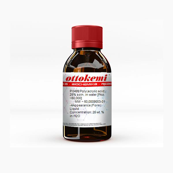 Poly(acrylic acid), 25% soln. in water [PAA ~50,000] 9003 ...