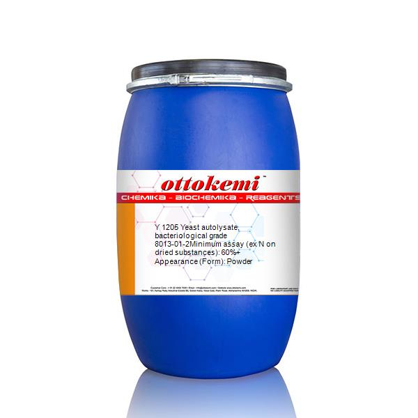 8013-01-2, Yeast autolysate, bacteriological grade, Y 1205, (3)