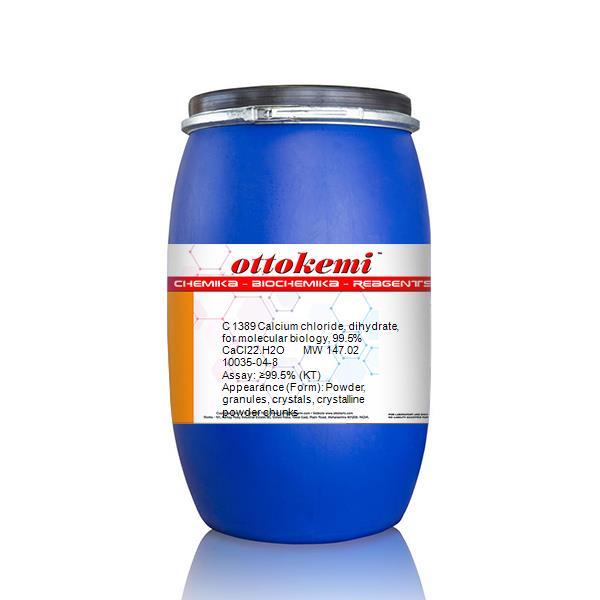 Calcium chloride, dihydrate, for molecular biology, 99 5% | CAS