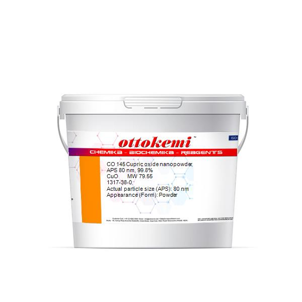 1317-38-0, Cupric oxide nanopowder, APS 80 nm, 99.8%, CO 145, (3)